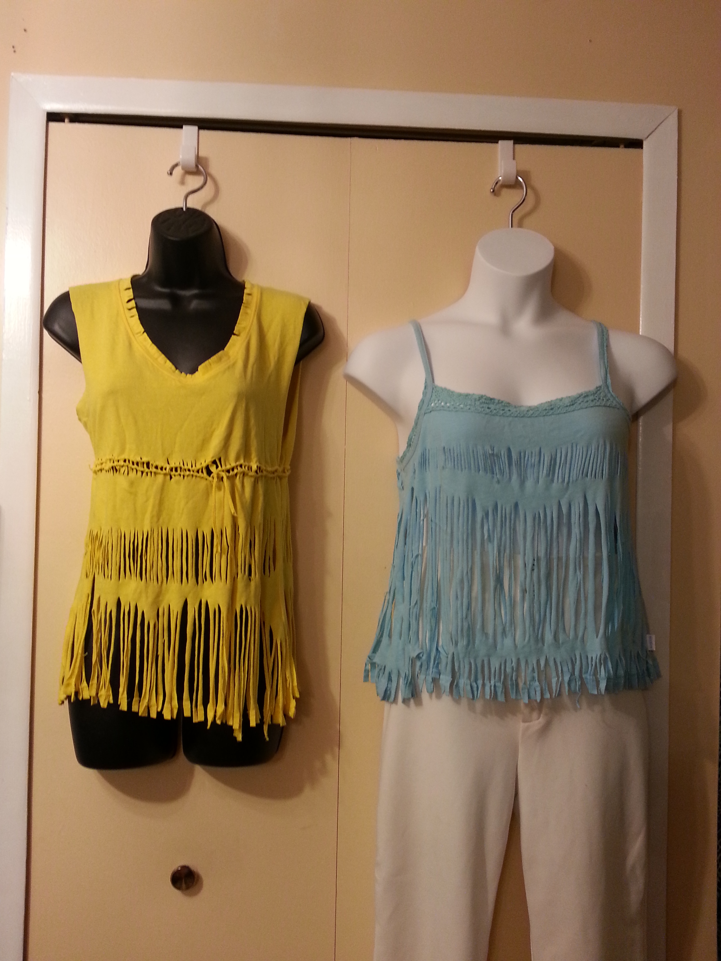 Summer Tops, Tunics and Sleeveless Vests by request