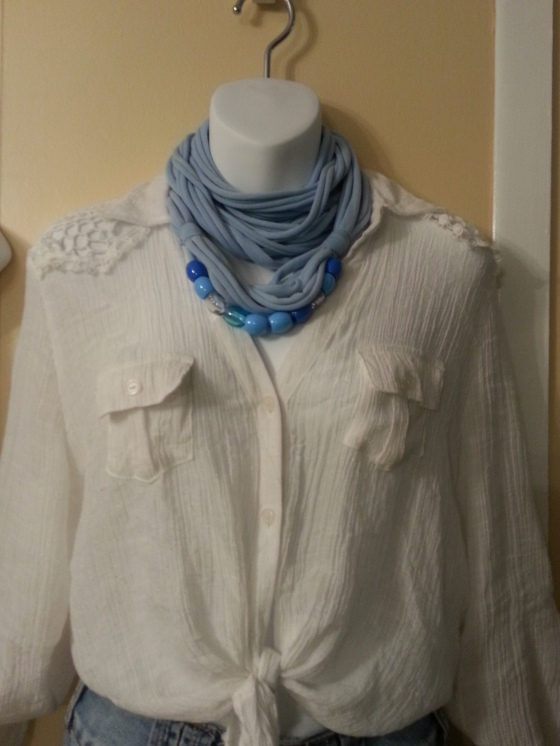 lisi designs rope scarf with beads